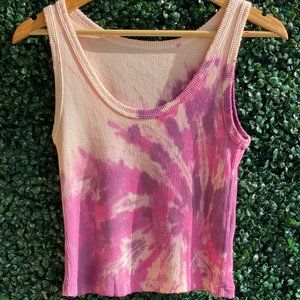 Vintage Relaxed Fit Tie Dye Boy Tank
